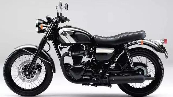 2016款复古大排摩托车W800登场