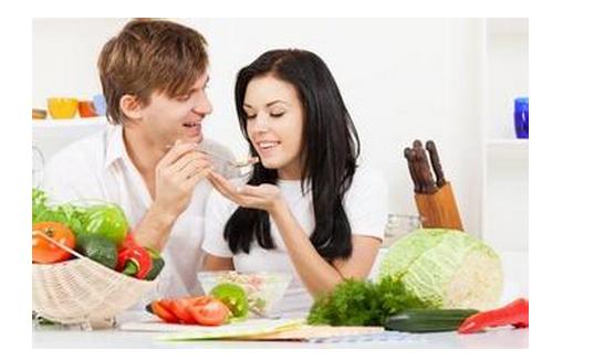 顺序一:先吃蔬菜