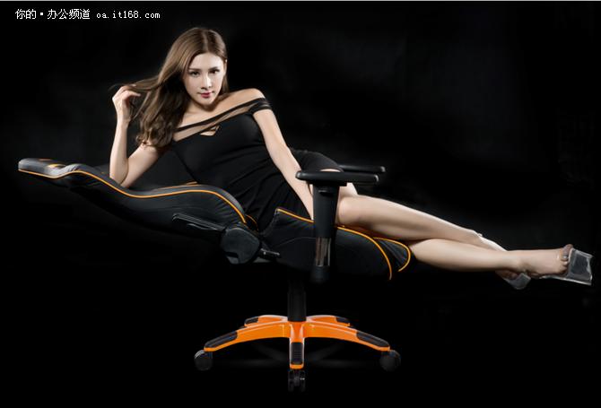 阿卡丁akplayer电竞椅未央款与美女v美女色美女的大图片
