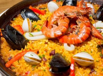 《西班牙海鲜饭》