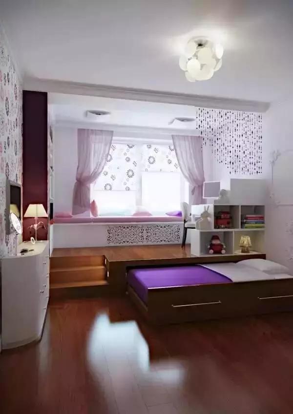 家中的床这样设计,不想睡懒觉都难!