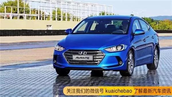 不得不承认韩系车就是漂亮 现代全新伊兰特发布高清图片