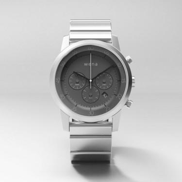 索尼Wena Wrist智能手表 简直不要太帅