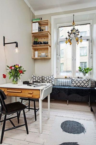 70平小户型北欧风装修案例 精心设计完胜90平住宅(组图)