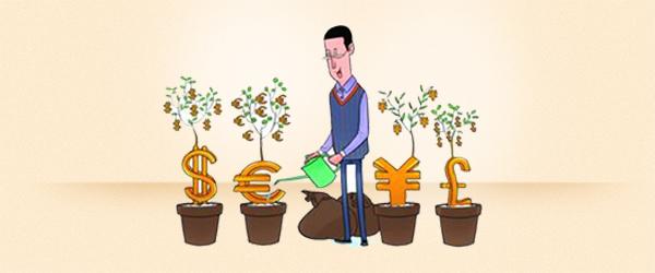 大学生金融社团纳新海报 设计