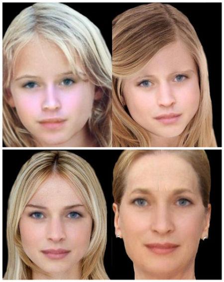 王子公主们长大后的模样 相貌预测App最近很火
