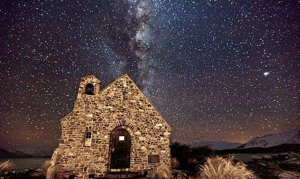 世界最美的星空:银河小镇特卡波