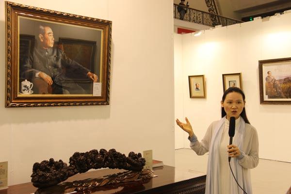 著名刺绣艺术家朱寿珍接受访问