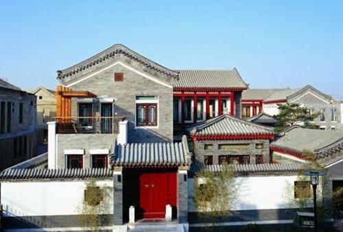 新中式建筑的魅力图片