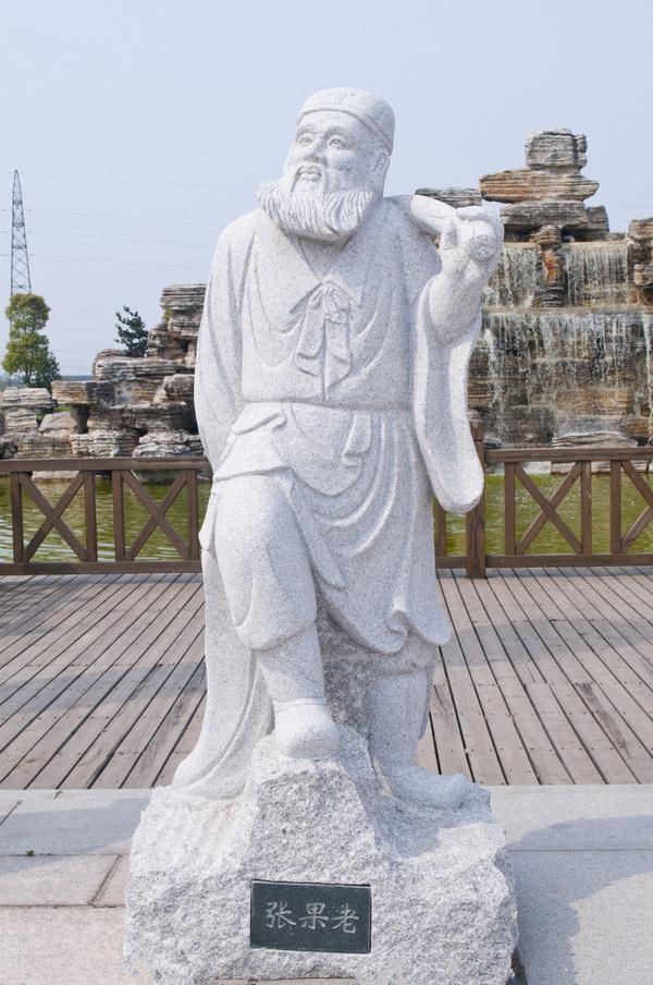 石雕八仙过海雕像