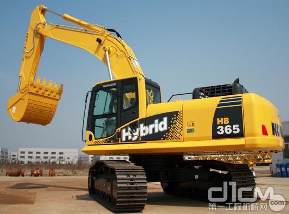 小松将向中国推出36吨级混合动力挖掘机