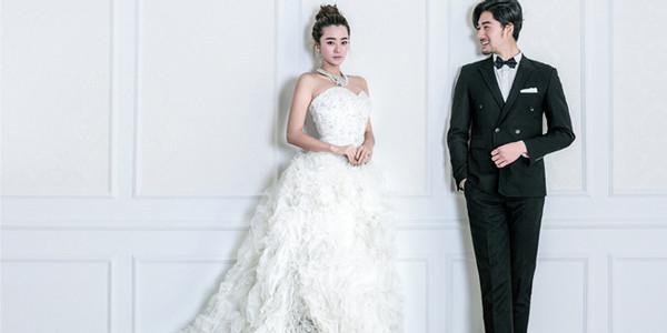 韩式婚纱照造型:发型图片