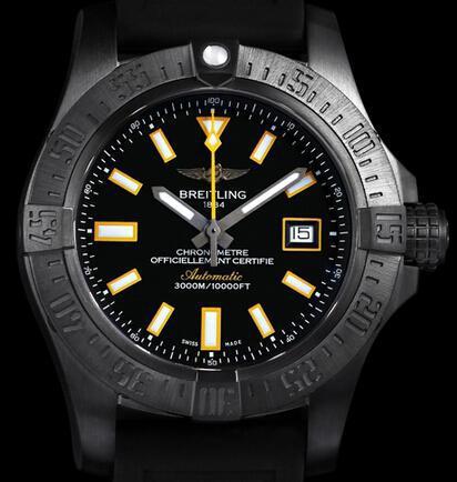 百年灵深潜海狼腕表