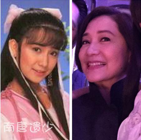 傅娟香香公主_岁月无情!100位最美金庸古装女神今昔对比照