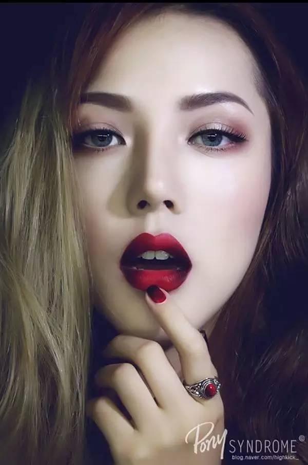 韩国彩妆达人图片