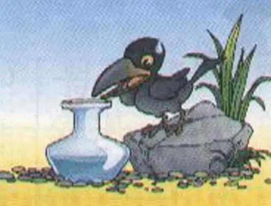 1,乌鸦喝水图片