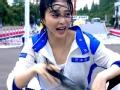 《浙江卫视挑战者联盟第一季片花》第一期 范爷开车被喷水湿身  李晨贴心为擦拭