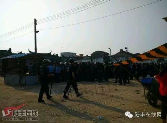 广东陆丰19人聚众阻挡国度要点工程开工被抓 威胁高额抵偿