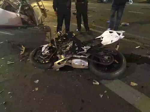 车祸现场。供图