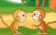 撿到金子的猴子