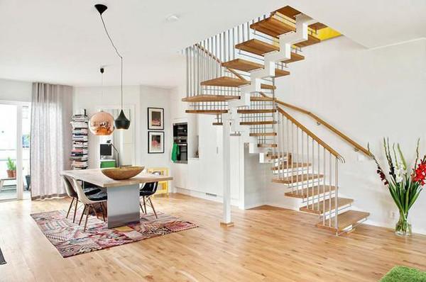 北欧风格楼梯吊顶