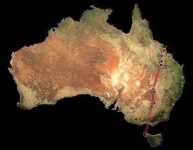 澳大利亚东部发现世界上最长陆地火山链,长达2000千米