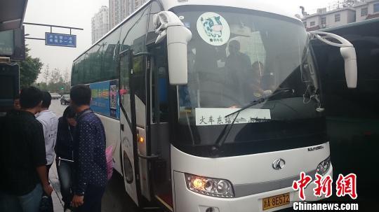 杭州街头的互联网公交。