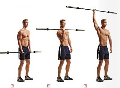 男子健身房高级增肌计划