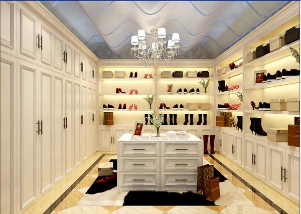 名士豪庭360平别墅设计欧式巴洛克风格装修效果图