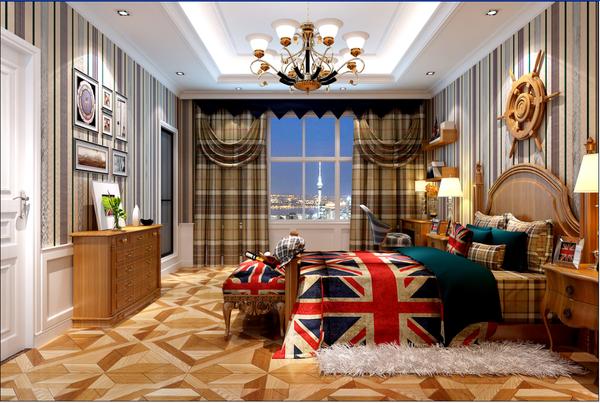 名士豪庭360平别墅设计欧式巴洛克风格装修效果图图片