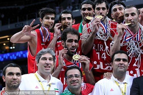 (2013年亚锦赛伊朗夺冠)