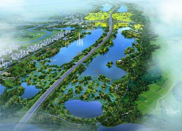成都江安湖规划�_成都排名前十大城市公园双流以8500亩居首?