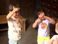 《爸爸去哪儿第三季片花》诺一胖轩哥哥力爆棚 集体做鬼脸哄小妹妹