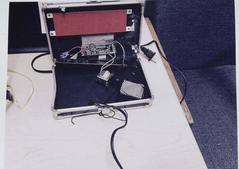 警方供给该闹钟的图像