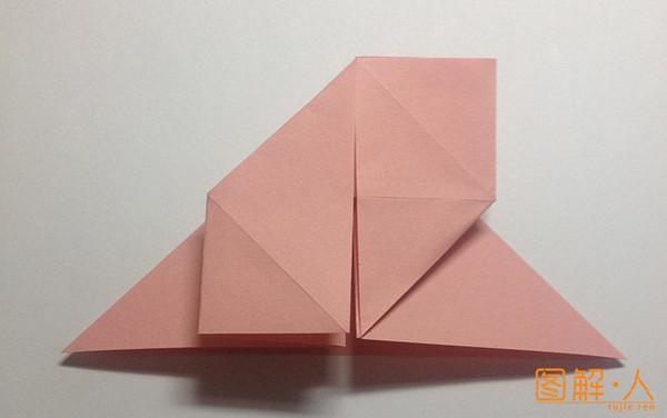 心形书签折纸图解教程
