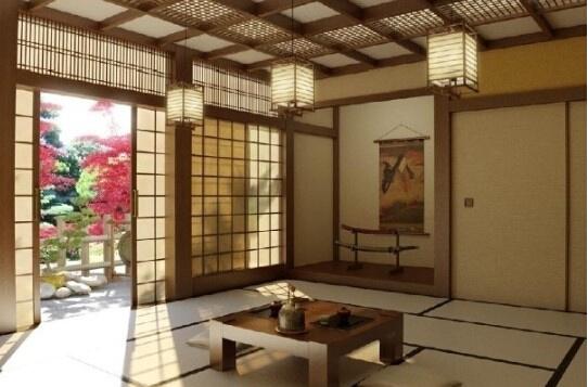 不同范文茶室空间设计说明中式庭院景观设计介绍风格图片