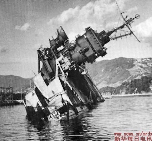 1944年的日美战役中,日本海军丧失了与美军一战的能力。(资料照片)