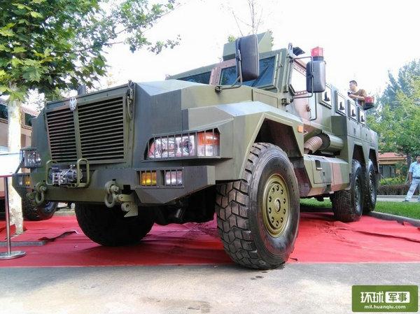 图为中国防地雷车够强悍。
