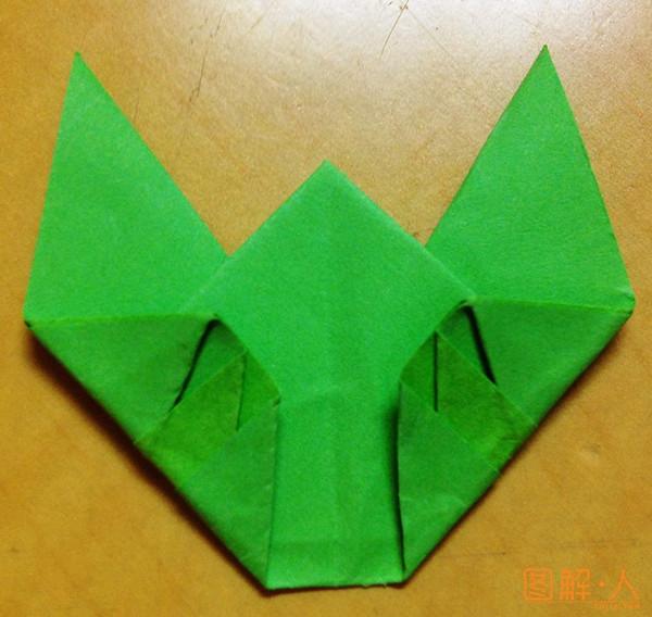 知了折纸图解教程