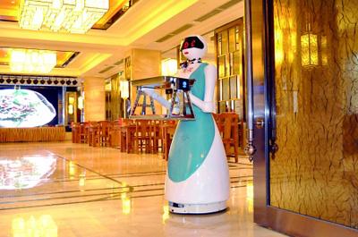 餐厅送餐机器人正在悄然改变我们的生活方式
