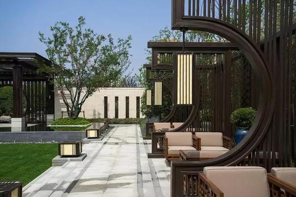 装修设计_新中式庭院图片