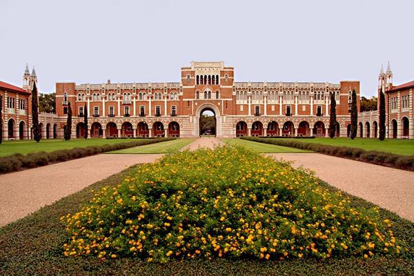 1,莱斯大学 rice university