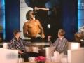 《艾伦秀第13季片花》贾斯汀·比伯晒裸照秀翘臀 曝与麦当娜后台调情