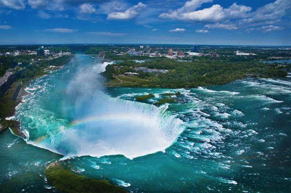 《彩虹》,尼亚加拉大瀑布