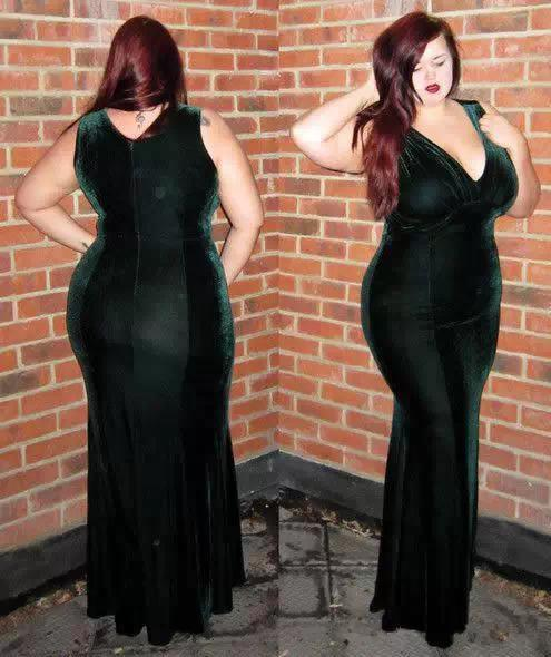 她是最会穿衣搭配的 胖 女人,太美了 原来胖子