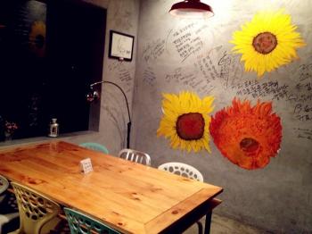 韩国烤肉手绘墙