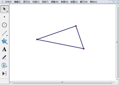 几何画板怎样画直角三角形