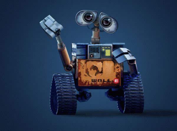 从外观上看它有点像迪斯尼动画片《机器人总动员》中的主角瓦力.