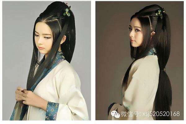 古代女子发型梳法_汉朝女子发型图片