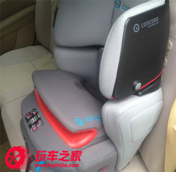 标致307 手动增加ISOFIX儿童安全座椅接口高清图片
